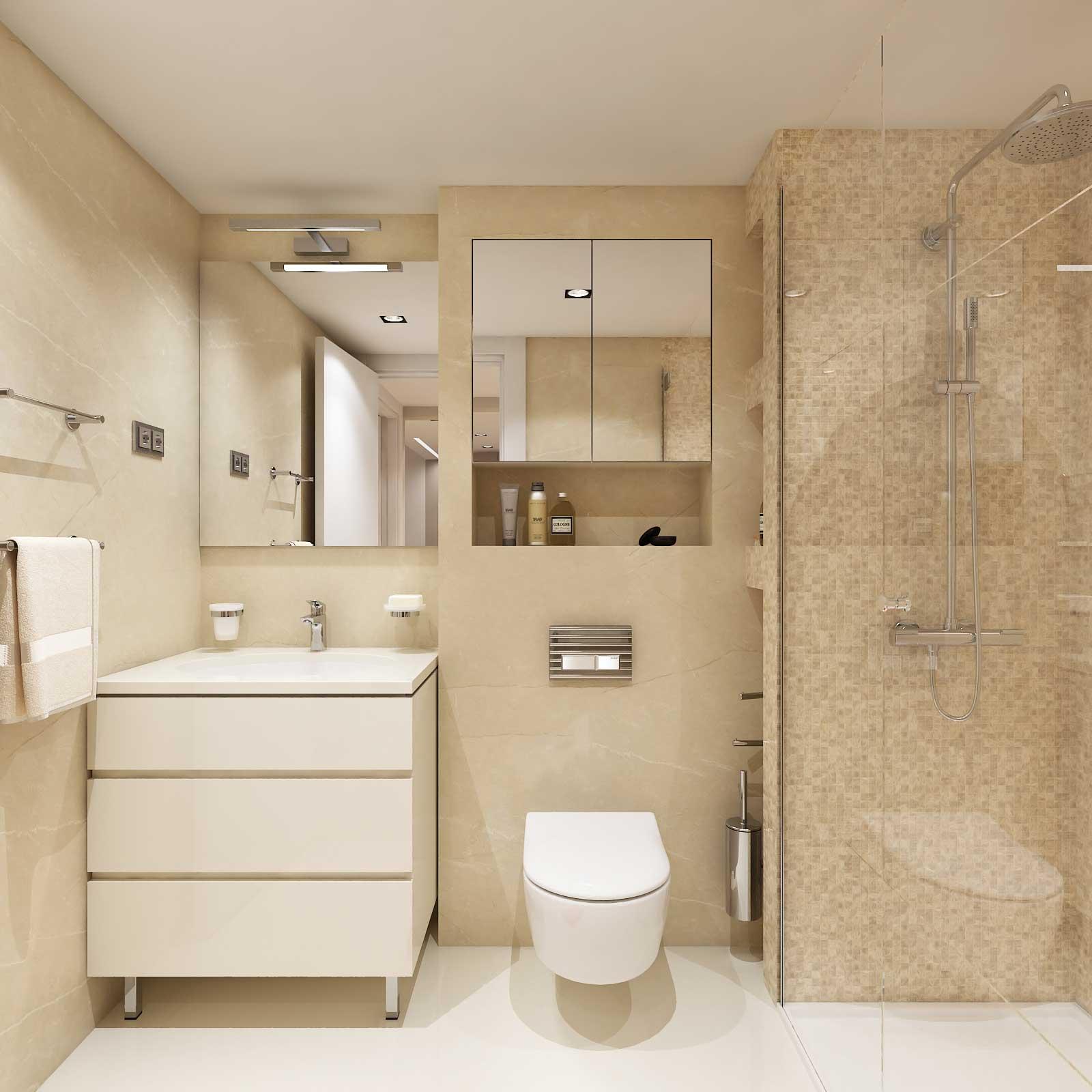 Apartman – kupatilo, Hotel Zepter, Vrnjačka Banja