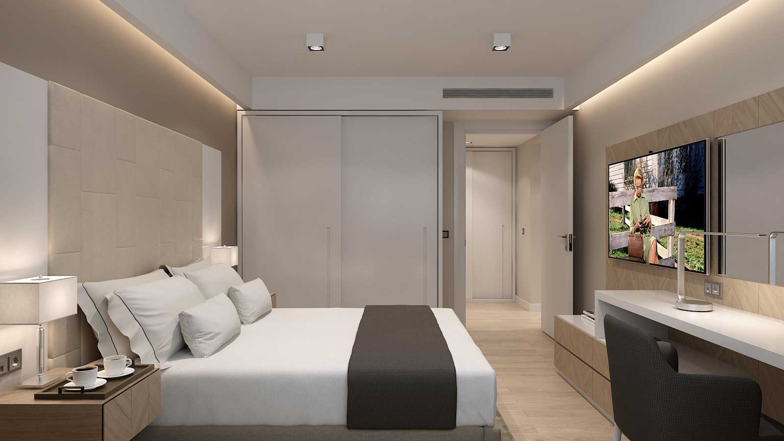 Apartman – spavaća soba, Hotel Zepter, Vrnjačka Banja