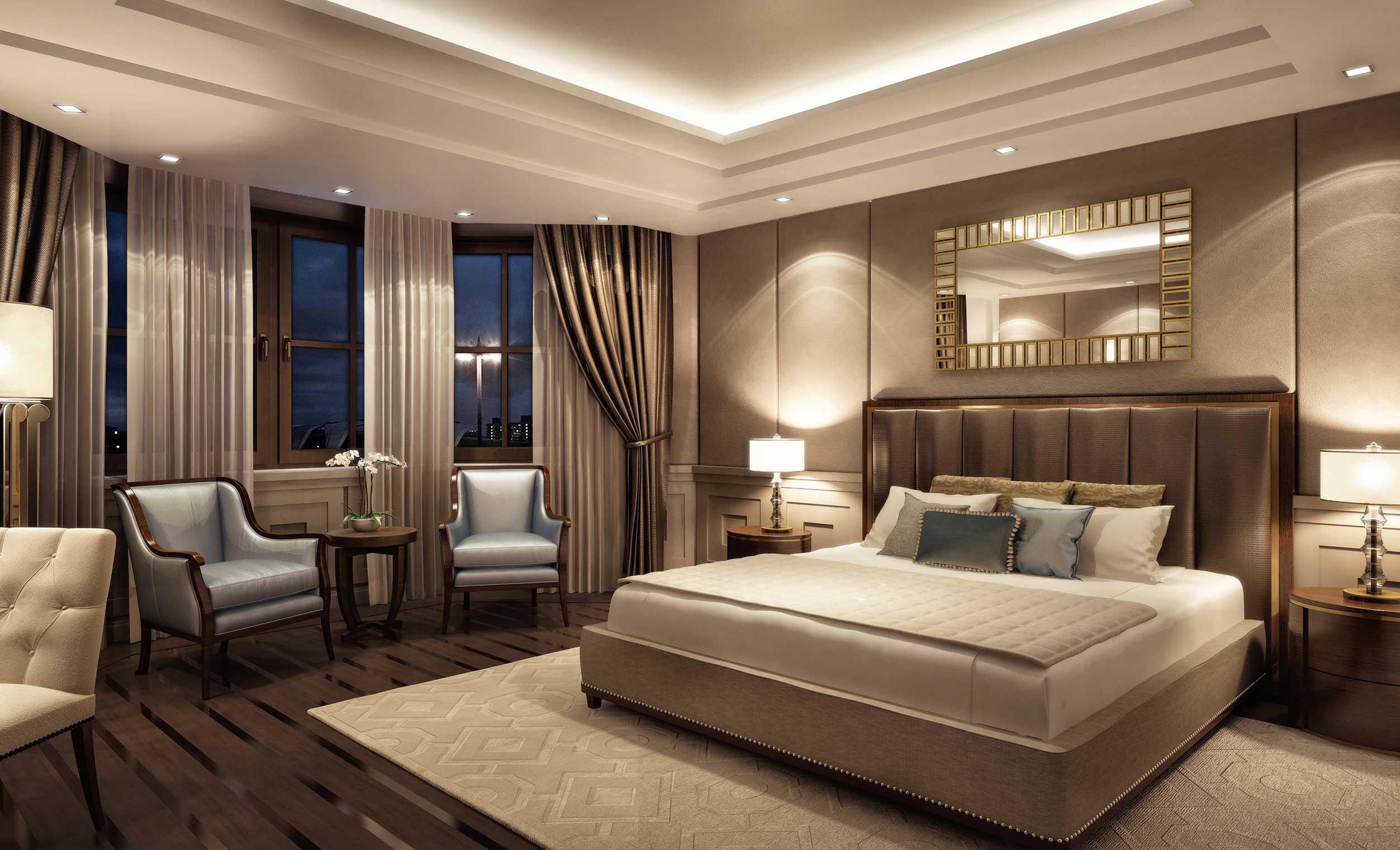 Hotel President, tipska soba, Moskva, Rusija