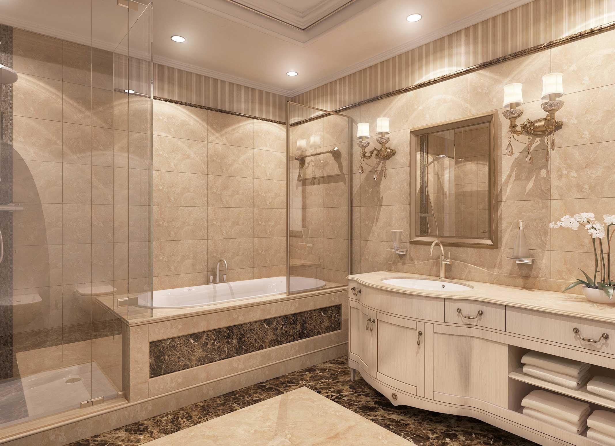 Hotel President, tipsko kupatilo, Moskva, Rusija