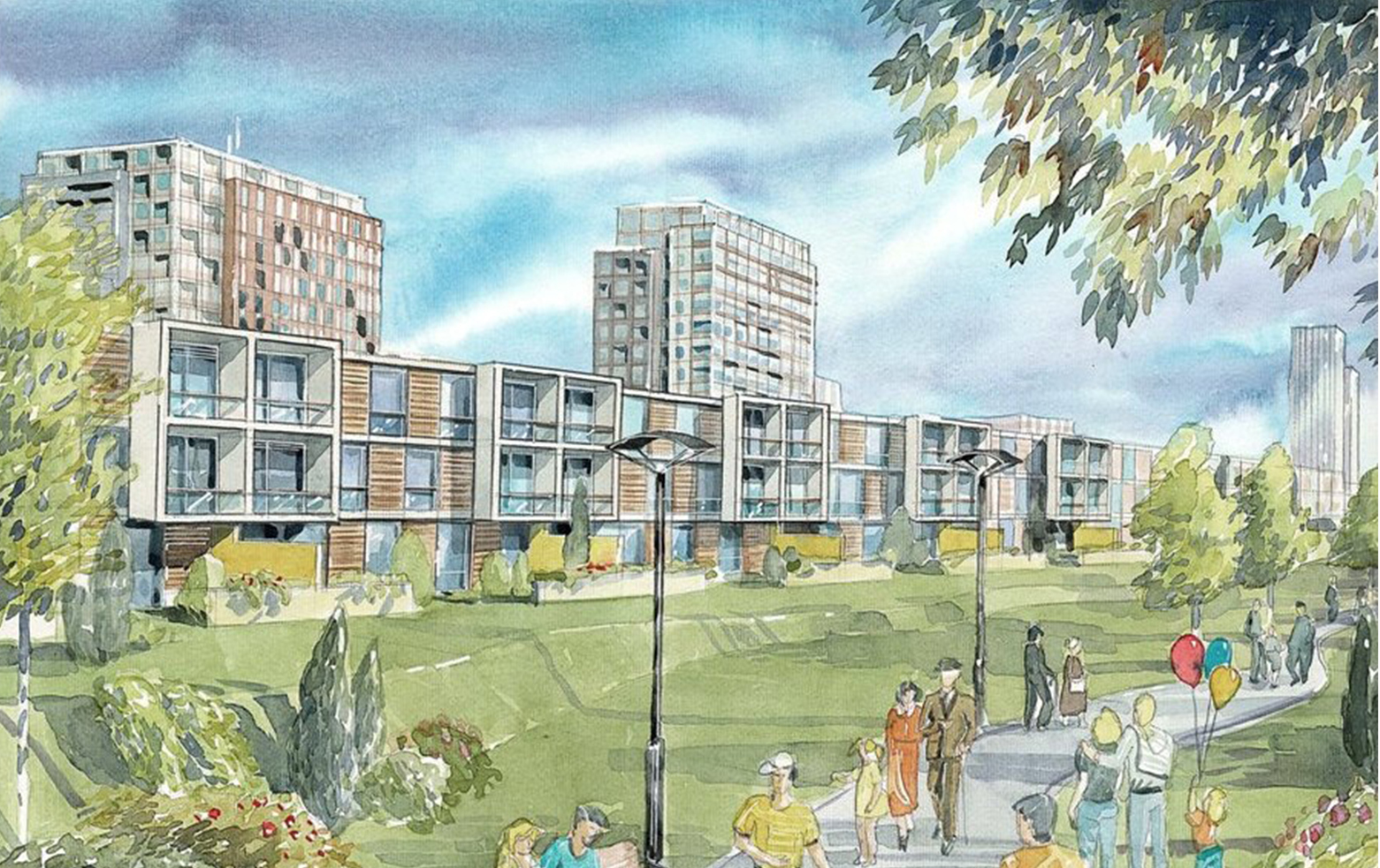 Idejno urbanističko rešenje, Krasnodar, Rusija