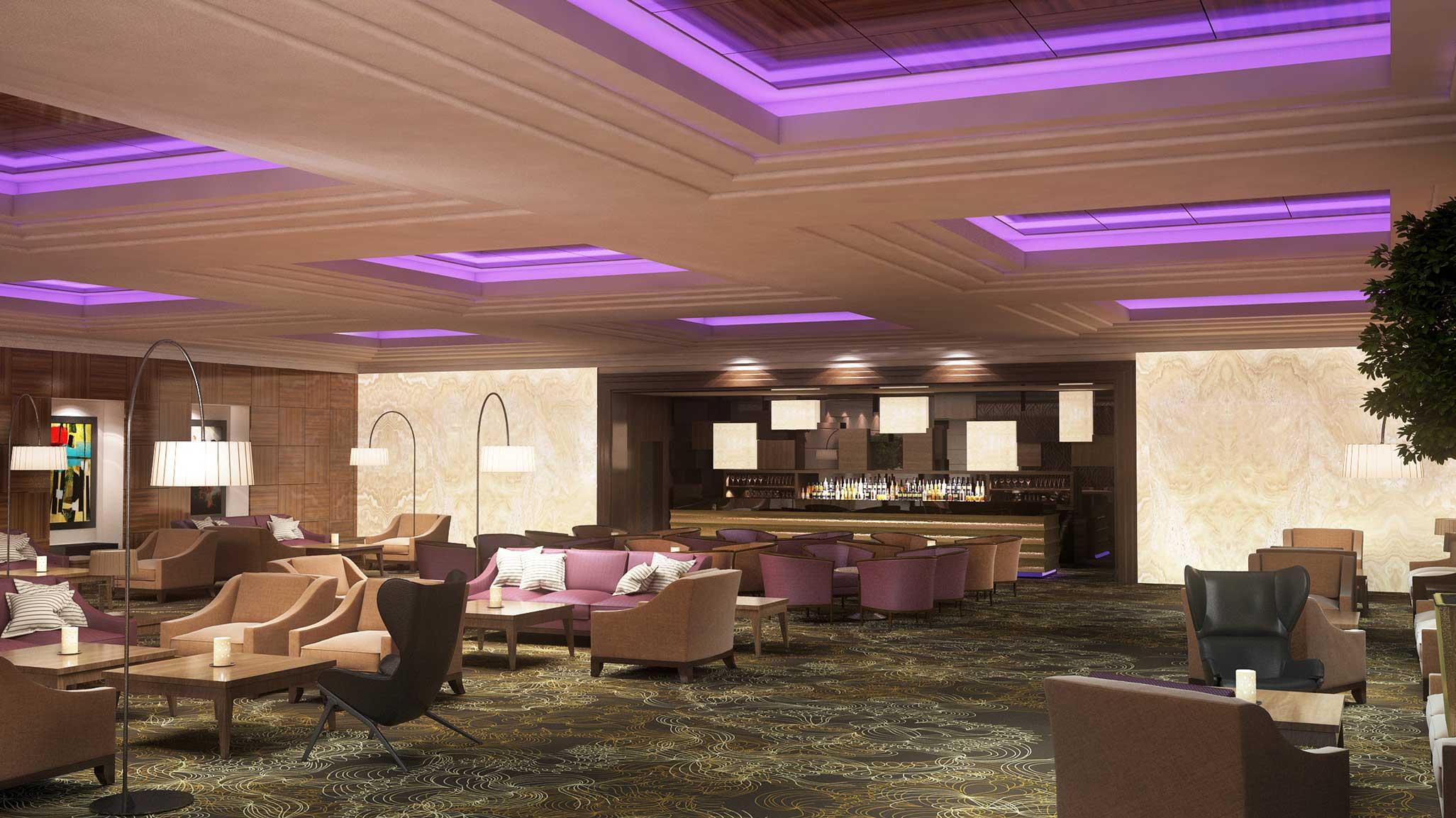 Hotel President lobby, Moskva, Rusija