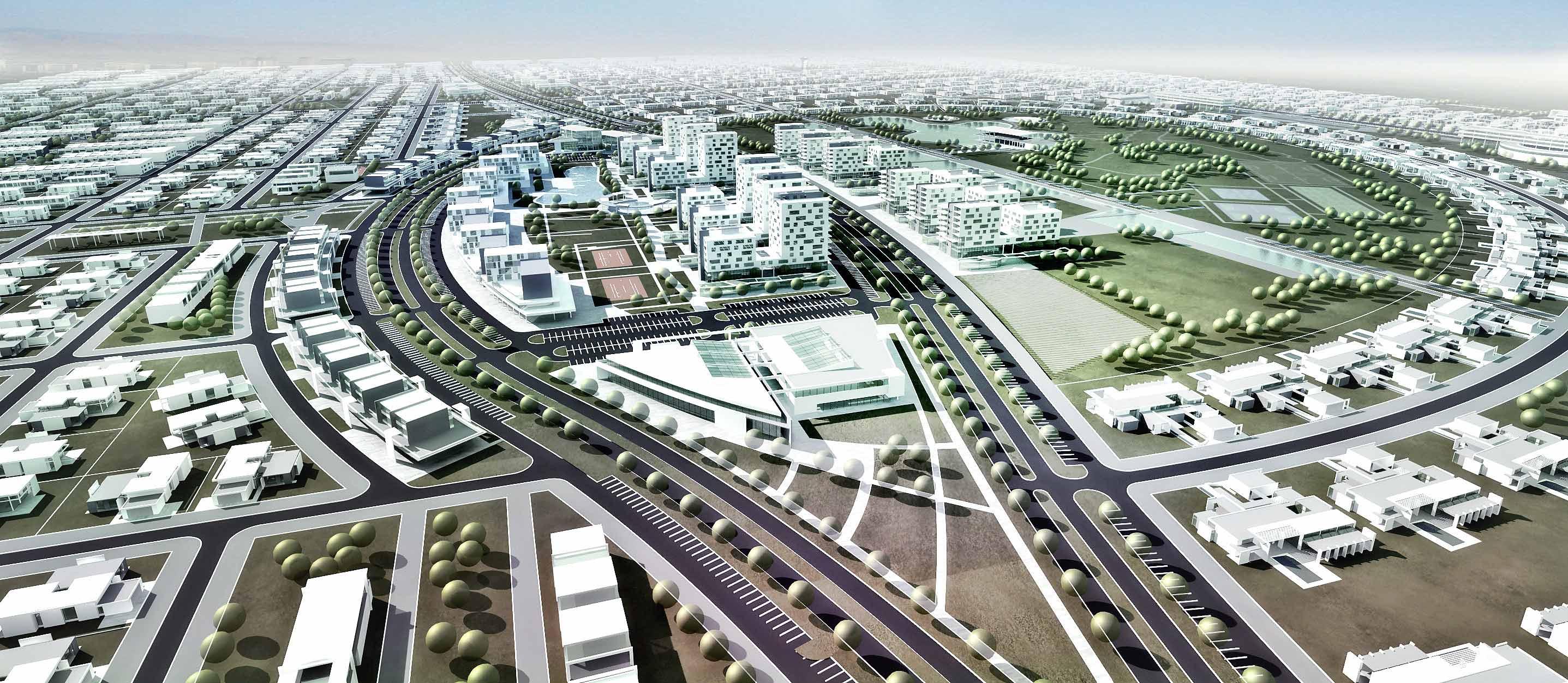 Konceptualno urbanističko rešenje LIBREVILLE, Gabon